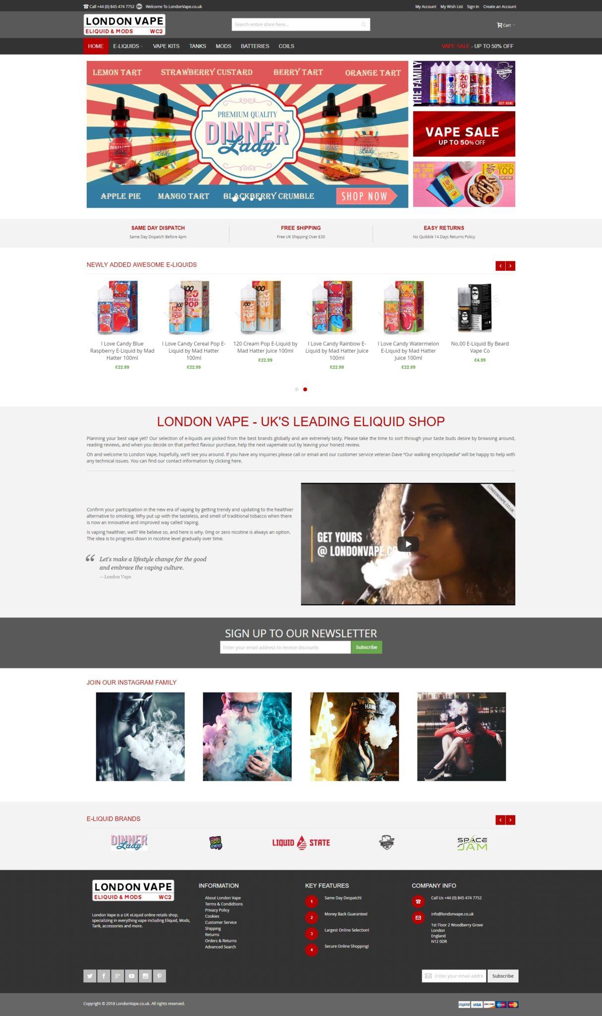 London Vape - Online Eliquid Shop